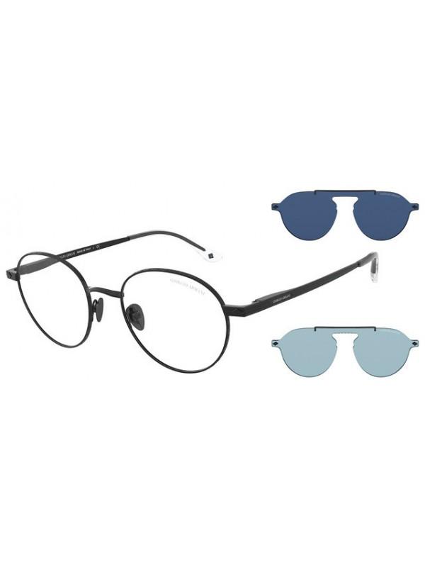 Giorgio Armani 6107 30011W - Oculos com 2 Clip On