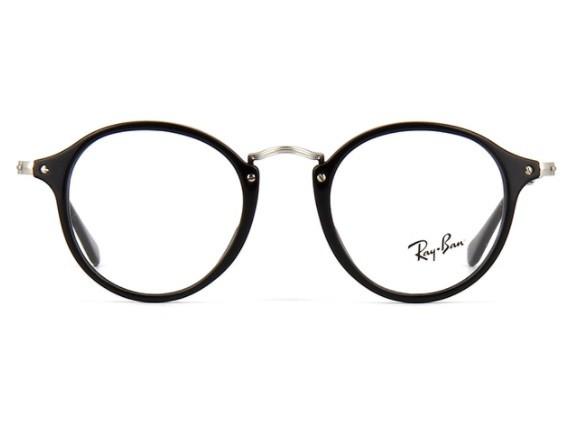 Ray Ban Round Fleck 2447 2000 - Oculos de Grau