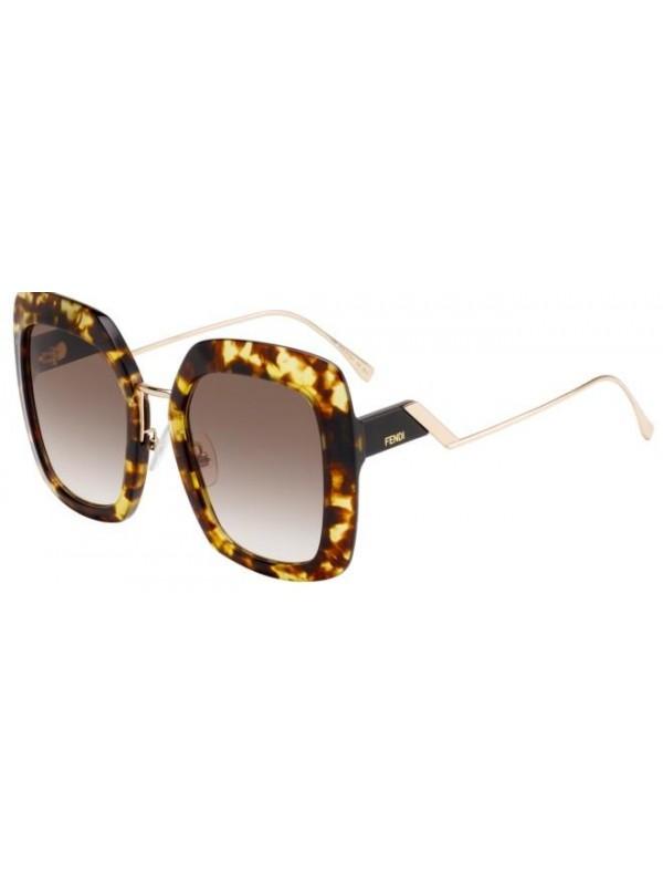 413ad935f Fendi TROPICAL SHINE 317 086HA - Oculos de Sol ...