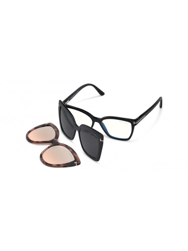 Tom Ford 5641B BLUE BLOK 001 CLIPON - Oculos de Sol