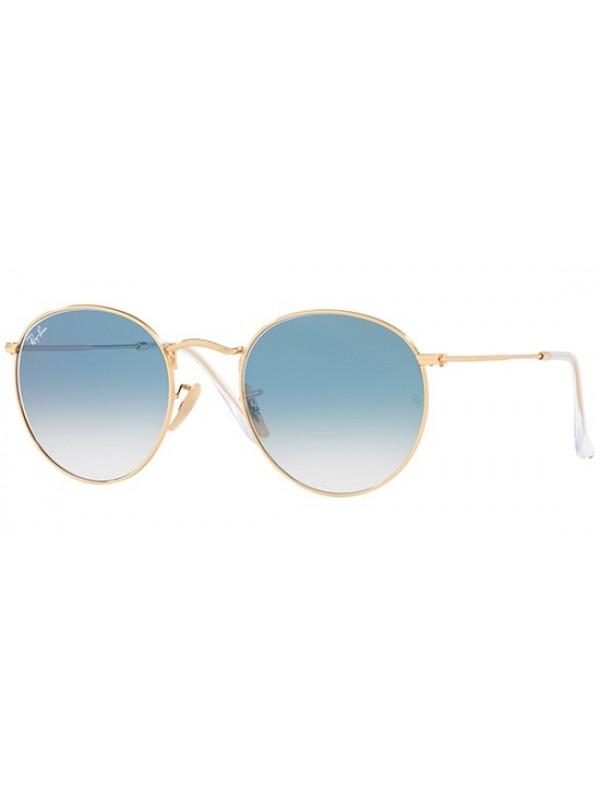 Ray Ban Round 3447N 0013F - Oculos de Sol