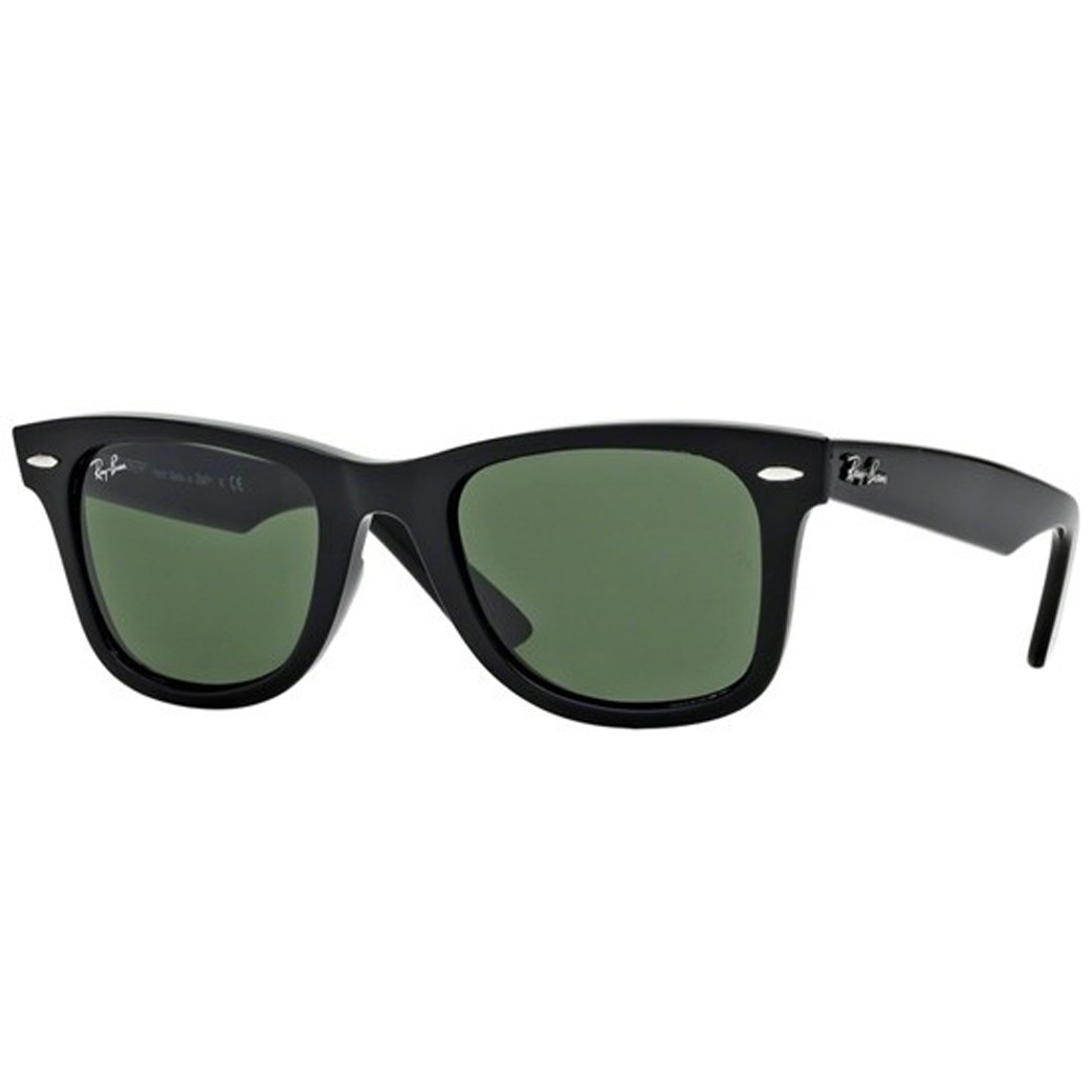 Ray Ban Wayfarer 2140 901 Tam 54 - Oculos de Sol