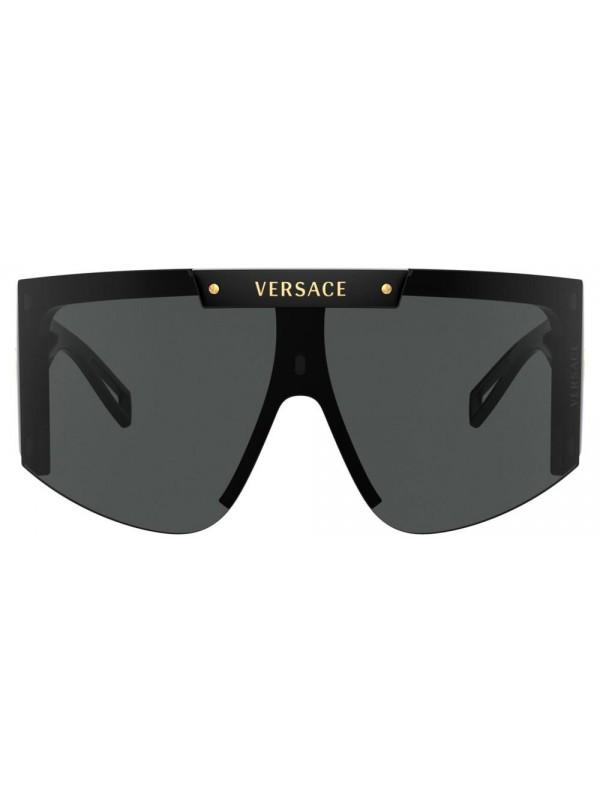 Versace Medusa Icon Shield 4393 GB11W - Oculos de Sol com 2 Lentes Extras