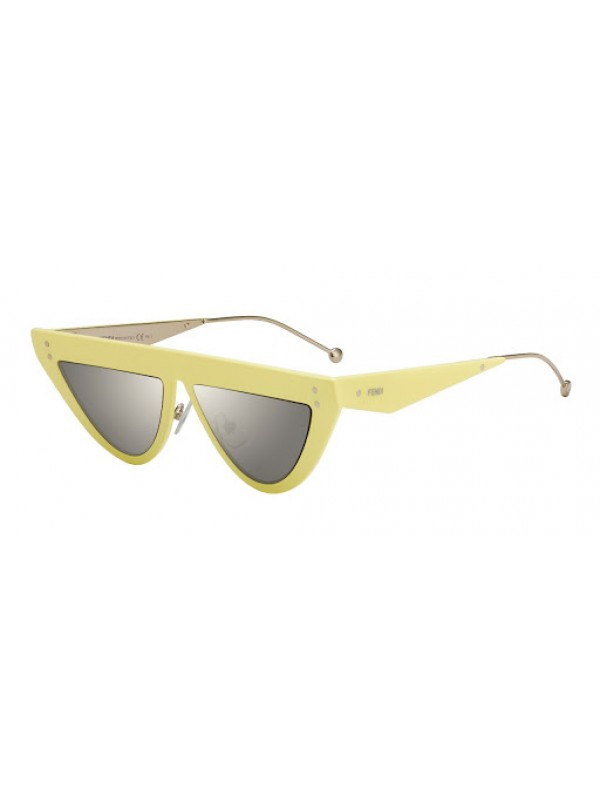Fendi Defender 0371 40GUE Yellow - Oculos de Sol