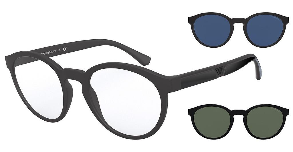 Emporio Armani 4152 5800W - Oculos com 2 Clip On