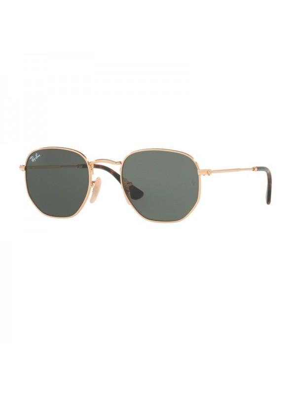 Ray Ban Hexagonal 3548NL 001  - Oculos de Sol