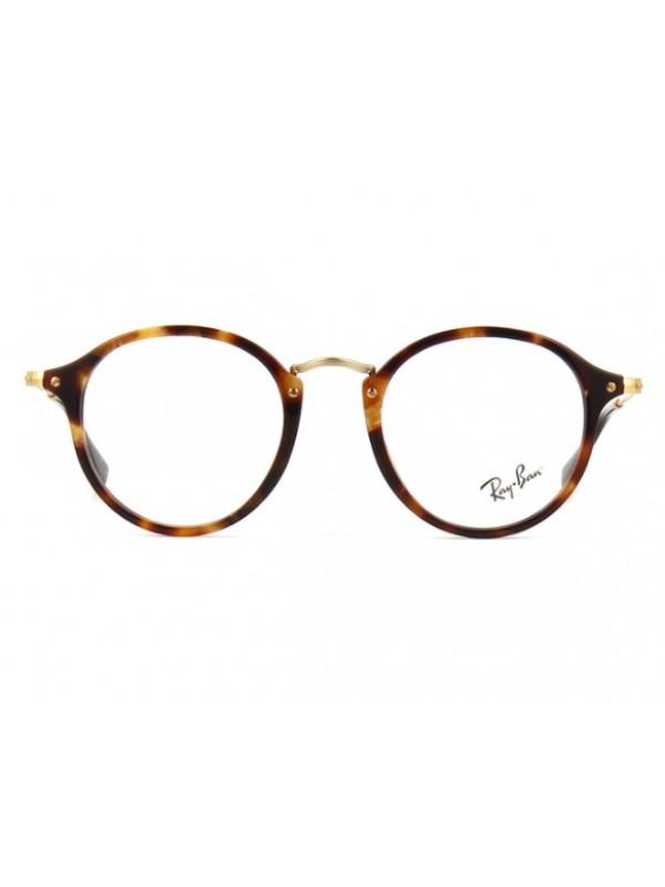 bf6b300d065f9 ... Ray Ban Round Fleck 2447V 5494 - Oculos de Grau