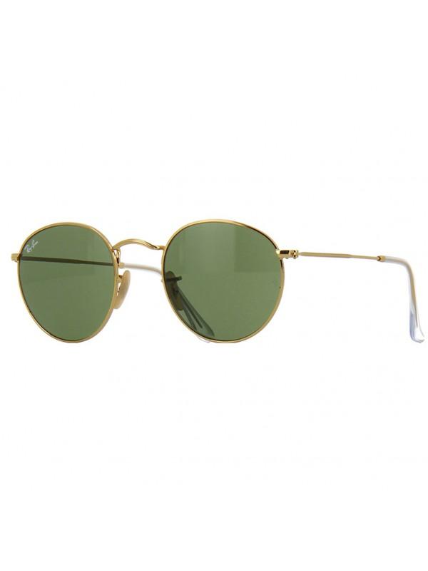 Ray Ban Round 3447 001 TAM 53 - Oculos de Sol