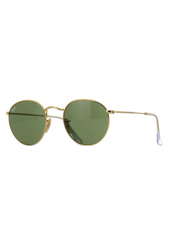 Ray Ban Round 3447 001 TAM 50 - Oculos de sol ... fc8d46c3b9